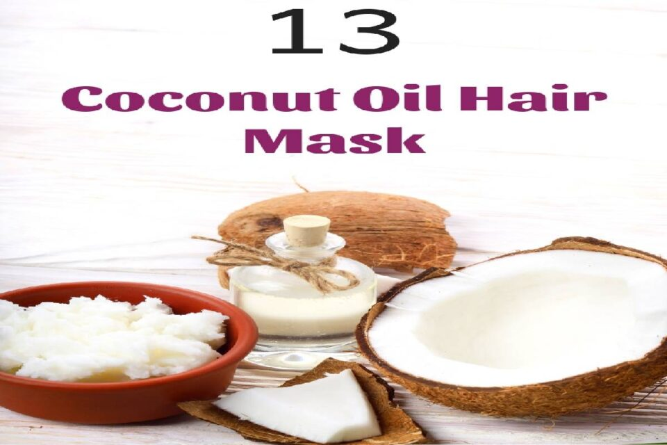 Hair Mask with Coconut Oil